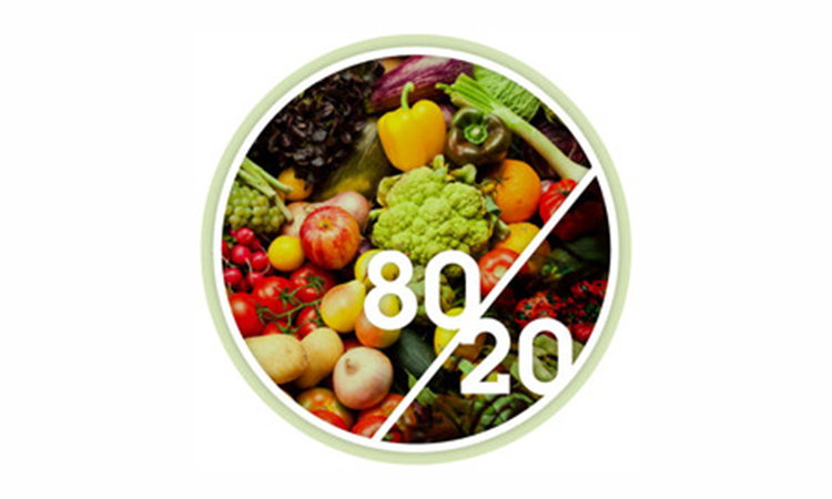 80 %مواد قلیایی و 20%اسیدی